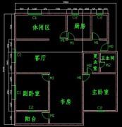 一步步教你画cad室内设计平面图