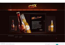 啤酒flash广告设计