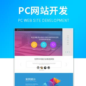 Pc网站开发 网站定制开发