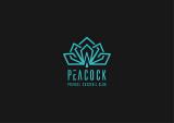 【LOGO设计】PEACOCK鸡尾酒吧logo设计