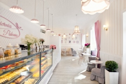 Pokusa蛋糕店室内空间设计
