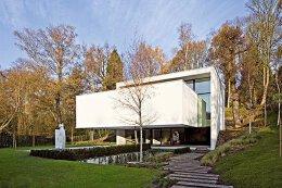 前卫的室内装饰:比利时欧式别墅设计
