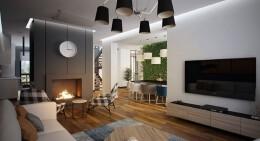 现代时尚的家居装修设计效果图欣赏