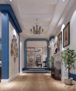 玄关设计地中海风格别墅设计