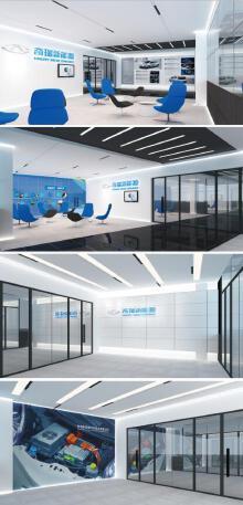 奇瑞汽车新能源大楼办公区设计