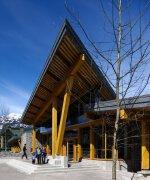 绿色建筑设计欣赏:加拿大Whistler公共图书馆