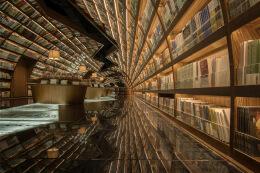 扬州钟书阁书店室内空间设计