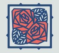 8款玫瑰花风格的logo设计欣赏