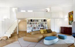 轻松简约的阁楼空间装修设计