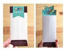 创意长方形信封设计