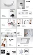 白色PPT版式设计案例欣赏