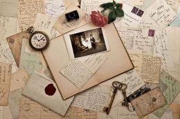复古信纸设计