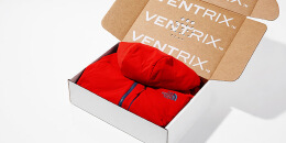 Ventrix服装包装箱设计