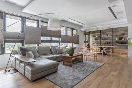 简约开放式布局的家居装修设计