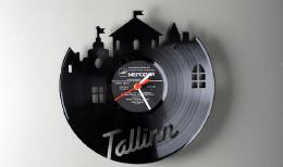 Pavel Sidorenko黑胶片创意挂钟