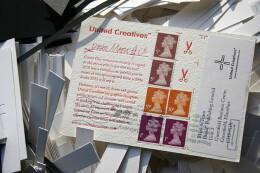 创意新年明信片设计合集