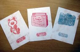 小朋友制作的节日明信片设计欣赏