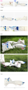 太极熊创意狐狸布偶靠枕靠垫抱枕枕头布艺玩偶