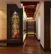 中式家庭家装装饰设计效果图