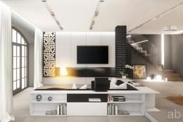23个国外漂亮的客厅设计