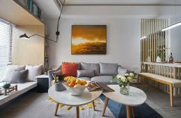 现代简约风格客厅设计效果欣赏