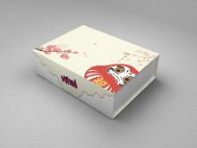 日式服饰包装盒设计