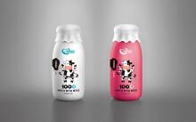酸牛奶瓶装设计