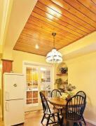 田园风格实木吊顶家装装饰设计