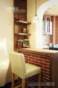 开放式厨房吧台装修案例欣赏