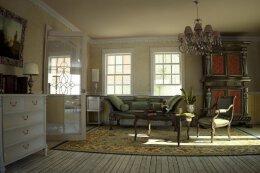 9张客厅装修壁纸效果图
