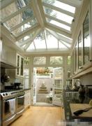 阳光房阳台改厨房装修图片