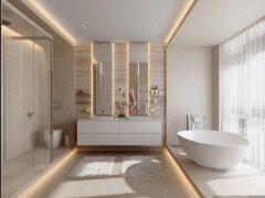 7款双台盆风格的卫生间装修设计风格欣赏