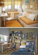 简洁明朗的4张男生男士卧室装修设计效果图