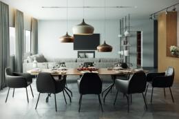 13款极具时尚感的现代自助餐厅装修设计效果图欣赏