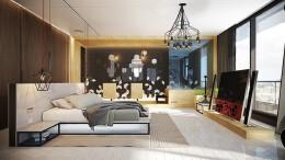 10个漂亮精致的卧室设计欣赏