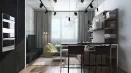 6个漂亮的40平方的小户型公寓装修设计