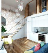 6个40平方loft小户型装修案例欣赏