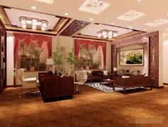 中式会所餐厅装修设计案例欣赏