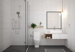 13个极简风格的家庭卫生间装修图