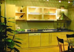 6款简约大气的家居厨房装修效果实景图欣赏