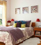 小清新宜人的小卧室装修效果图设计欣赏