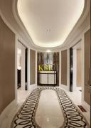 欧式风格玄关走廊吊顶装修效果图