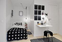 时尚又美丽的小卧室装修效果图