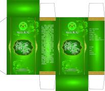 绿茶的包装纸盒设计说明