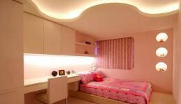甜美温馨的榻榻米床装修设计