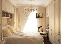 白色欧式简约的榻榻米床装修设计