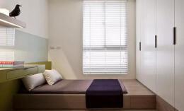 日式两室两厅书房榻榻米家庭装修