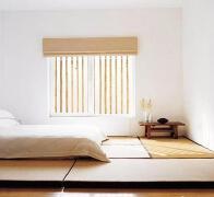 日式榻榻米图之室内榻榻米床