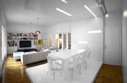 纯白浪漫:纯白小户型室内装修图片欣赏