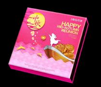 奥佳中国风创意中秋月饼盒包装模板